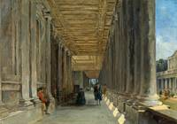James Holland - The Colonnade of Queen Mary's Hous