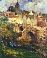 James Paterson - A Village in East Linton, Hadding