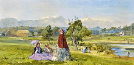 John Absolon - A summer idyll