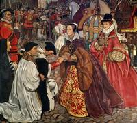 John Byam Liston Shaw - Queen Mary