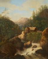 Johann Jakob Dorner the Younger, A Mountainous Lan