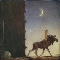 John Bauer, illustration of Walter Stenström's 'Th