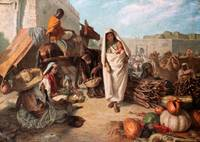 John Stirling - Al-Sok -Market in Marocco 1869