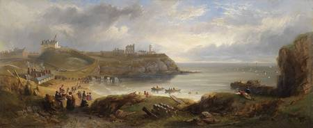 John Wilson Carmichael - Tynemouth, From a Souther