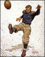 Joseph Christian Leyendecker, (1874 - 1951), Footb