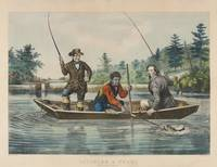 Currier & Ives (Publishers) CATCHING A TROUT, WE H
