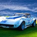 """""""1968 Corvette Vintage Racecar"""" by FatKatPhotography"""