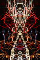 ABSTRACT LIGHT STREAKS #283