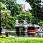 """Boston MA - Boston Public Garden Bridge"" by susansartgallery"