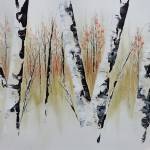 """October Birch Forest"" by FradetFineArt"