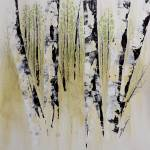 """June Birch Forest"" by FradetFineArt"