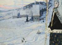 Mikhail Vasilievich Nesterov 1862-1942 WINTER