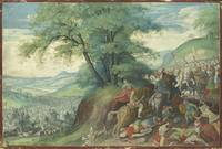 Jacob Savery I THE BATTLE BETWEEN THE ISRAELITES A