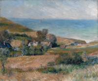 View of the Seacoast near Wargemont in Normandy ,