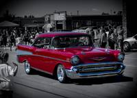 Parade Red 1957 Chevy