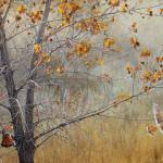 """autumn meadow with kestrels"" by rchristophervest"