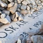 """""""Oskar Schindler grave in Jerusalem"""" by jcarillet"""