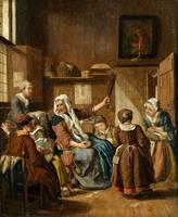 Jan Jozef Horemans the Elder, The Needlework