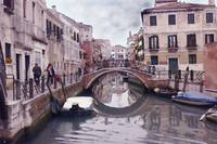Venice Cannaregio Canal - Oil Painting