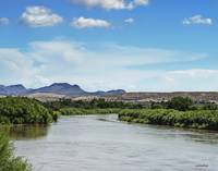 Rio Grande River Running Full