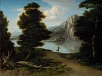 Washington Allston - Landscape with Lake (1804)