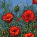 """Red Poppies, Flowers"" by joyart"