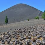 """Cones below Cinder Cone"" by JohnChaoPhoto"