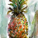 """Pineapple Sweet Ripe Ananas Fruit"" by GinetteCallaway"
