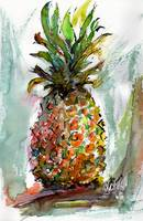 Pineapple Sweet Ripe Ananas Fruit