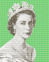 God Save the Queen - Green