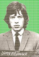 Mick Jagger Mug Shot - Green