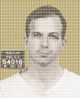 Lee Harvey Oswald Mug Shot - Gold