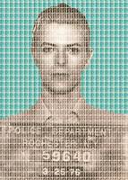 David Bowie Mug Shot - Blue