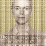 """David Bowie Mug Shot - Gold"" by garyhogben"