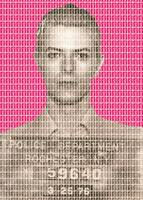 David Bowie Mug Shot - Pink