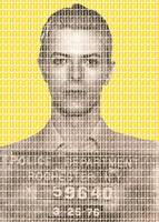 David Bowie Mug Shot - Yellow
