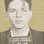 """Sinatra Mug Shot - Gold"" by garyhogben"