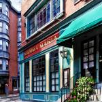 """Boston MA - North End Restaurant"" by susansartgallery"