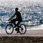 """Biking by the sea"" by felixpadrosa"