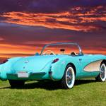 """1957 Chevrolet Corvette Roadster II"" by FatKatPhotography"