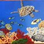 """CORAL REEFS I"" by ROFFEART"