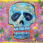 """Marble Skull"" by ArtPrints"