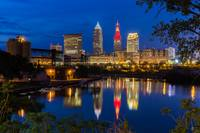 Cleveland River Reflection