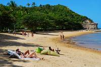 Beach in Trancoso - Bahia - Brazil