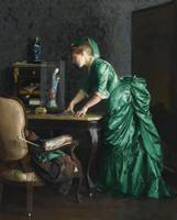 William McGregor Paxton 1869 - 1941 1875 (THE GREE