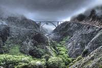 Bixby Bridge Through Fog and Dale