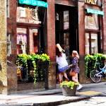 """Boston MA - Cafe in Little Italy"" by susansartgallery"