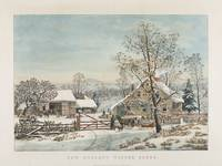 Currier & Ives (Publishers) NEW ENGLAND WINTER SCE