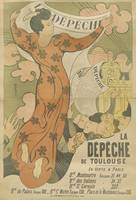 Vintage Poster for the newspaper La Dépêche de Tou