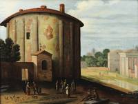 WILLEM VAN NIEUDLANDT ; VIEW OF THE TEMPLE OF HERC